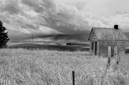 Approaching Storm, Pierce County, North Dakota