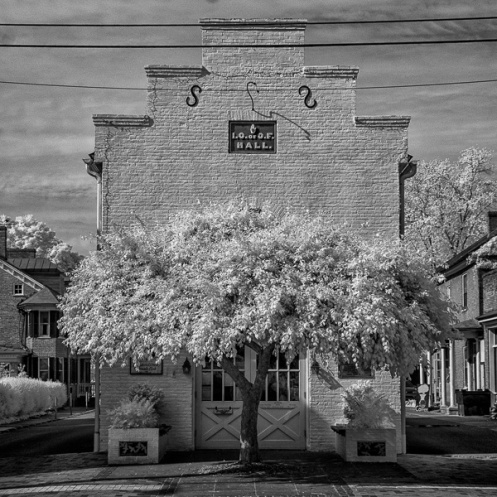 Shepherdstown, WV Library; Digital Infrared