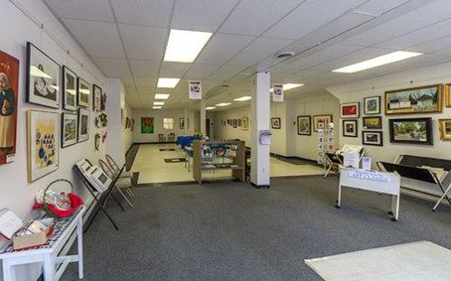 Berkeley Art Works gallery at 116 North Queen Street in Martinsburg, WV