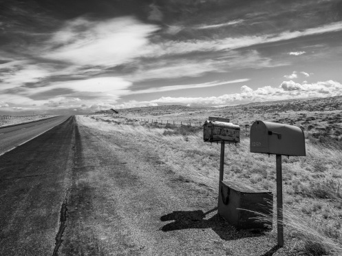 """Rural Delivery"" Wyoming September 2015"