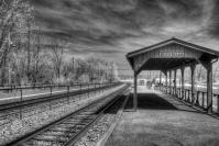 """Duffields Train Station"" (Digital Infrared)"
