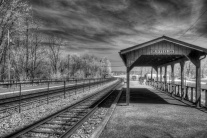 """Duffields Train Station"" (Digital Infrared)"