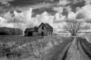 """Abandoned Farm and Clearing Storm"""