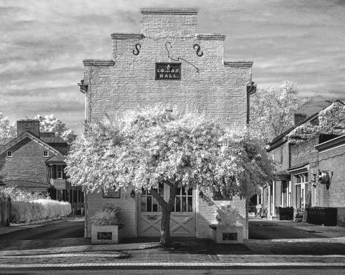 """""""Shepherdstown Library"""" (Digital Infrared)"""