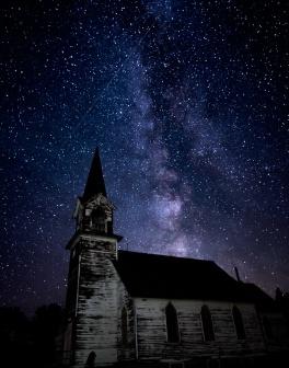 """Milky Way over Tunbridge, ND."""