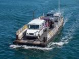 "The ""On Time III"" ferry to Chappaquiddick Island"