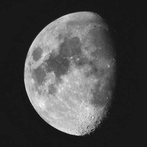 Moon photograph by iPhone September 19, 2019